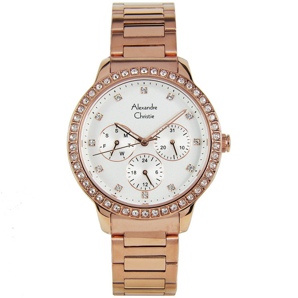 2691BFBRGSL Alexandre Christie Diamond Womens Watch