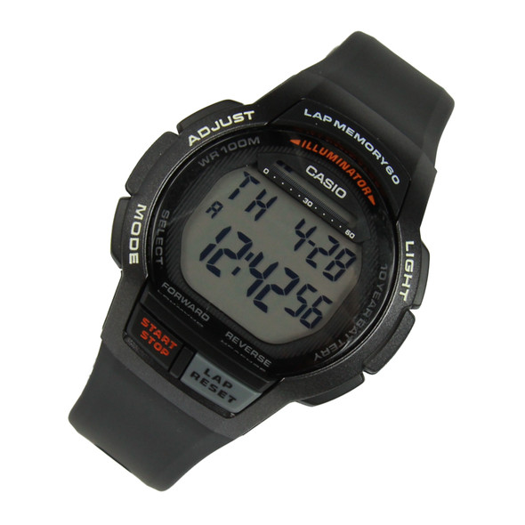 WS-1000H-1AV Casio Lap Memory Watch