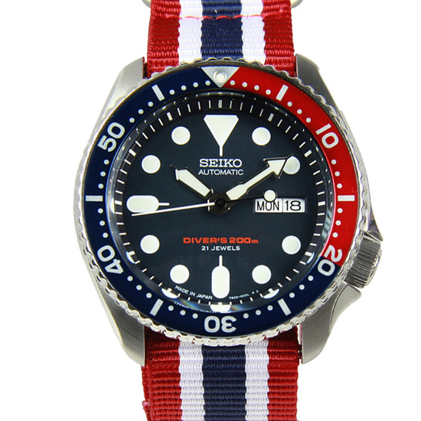 Seiko Automatic SKX009J Watch