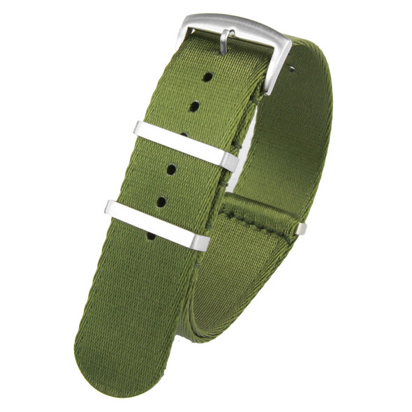 20MM GREEN SEATBELT NATO STRAP