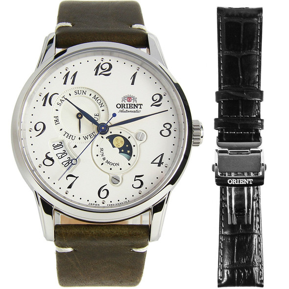 RA-AK0003S00B Orient Sun Moon Watch
