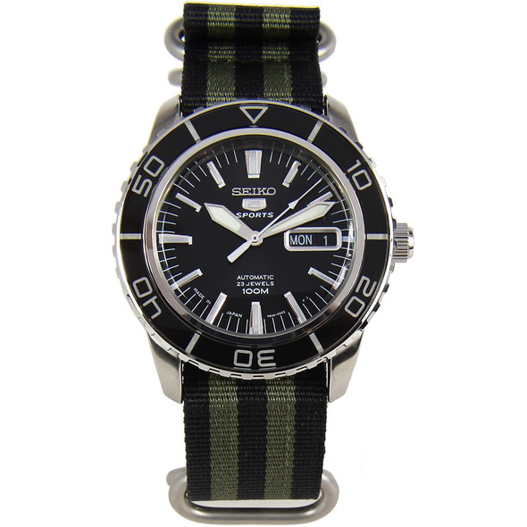 Seiko 5 Sports Automatic Mens Watch SNZH55J1