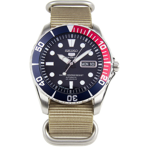 SNZF15J2 Seiko 5 Sports Made in Japan Watch