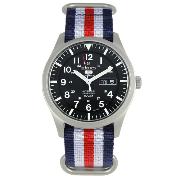 Seiko 5 Sports Military watch SNZG15K1