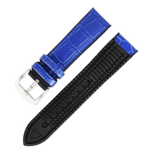 HYBRID WATCH STRAP BLUE