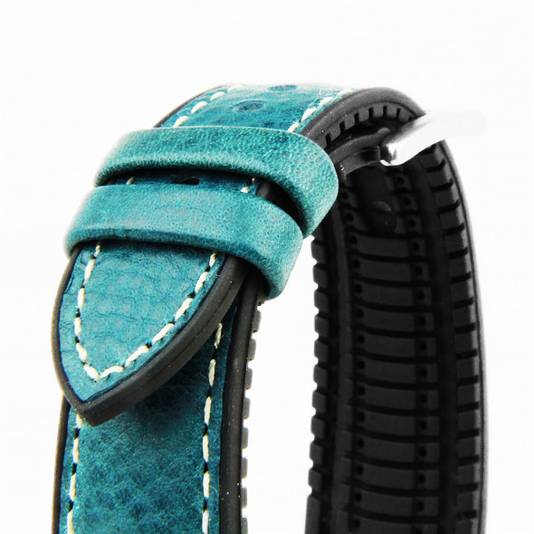HYBRID STRAP LIGHT BLUE (ITALIAN LEATHER)