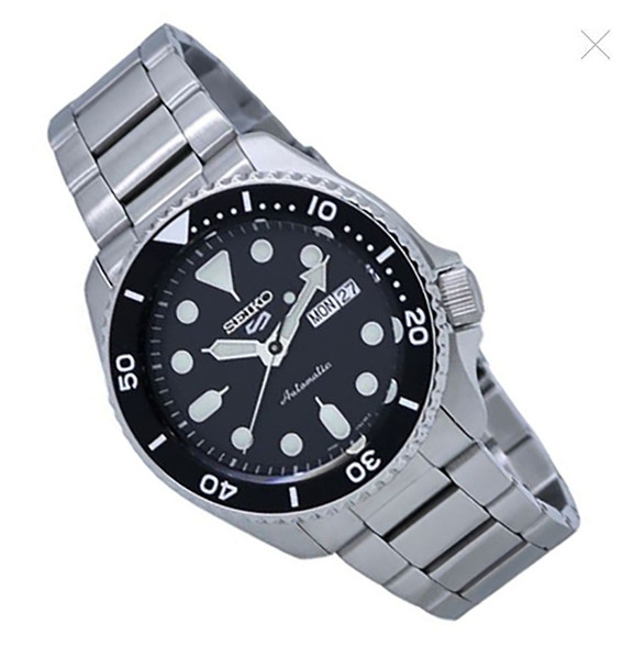 Seiko 5 SRPD55K1 Black Dial Watch
