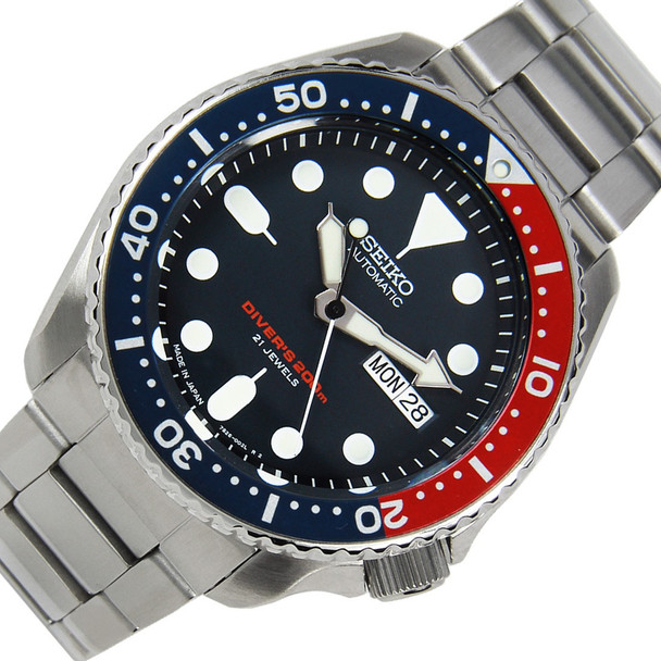 Seiko SKX009J Solid oyster