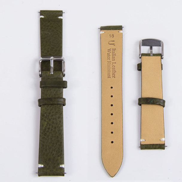 SNK805K2 SNK805K Seiko 5 Automatic Military with Leather Strap Watch