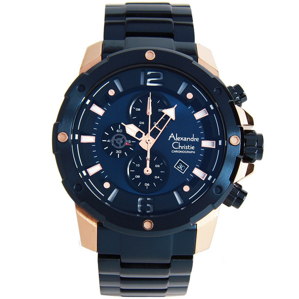 Alexandre Christie Mens Watch 6410MCBURBU