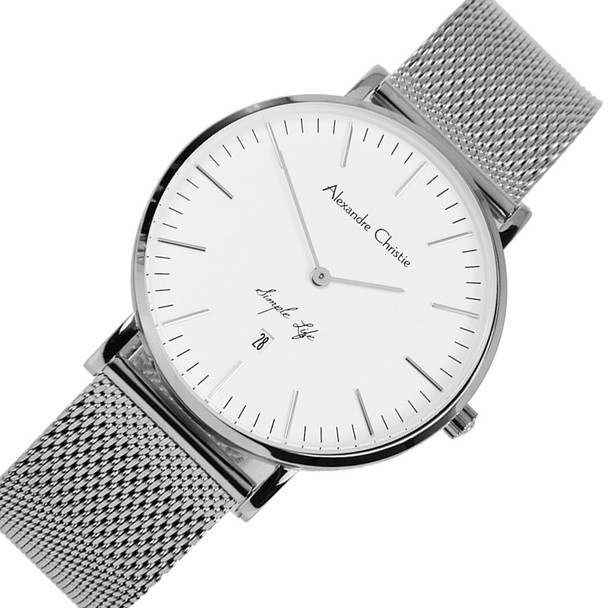 8566LDBSSSL A C Simple Life Watch