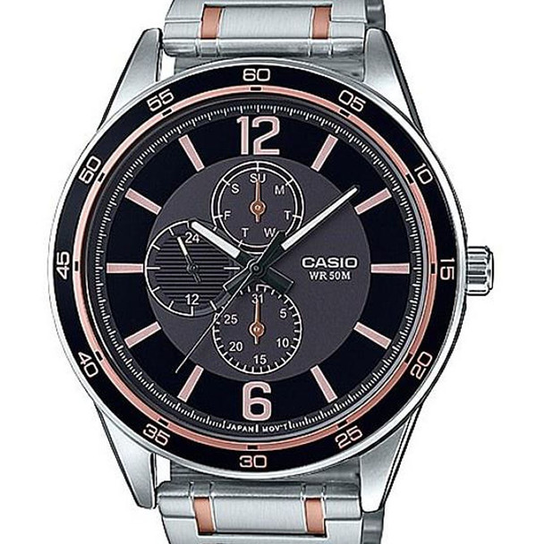 Casio MTP-E319RG-1B Watch