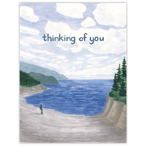 Thinking of You Seascape Card