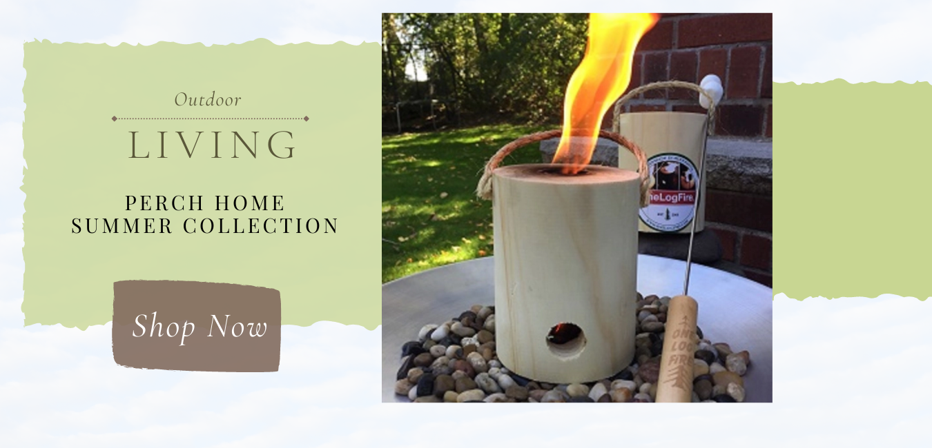 outdoor gifts, citronella gift candle, one log fire, insect scarves