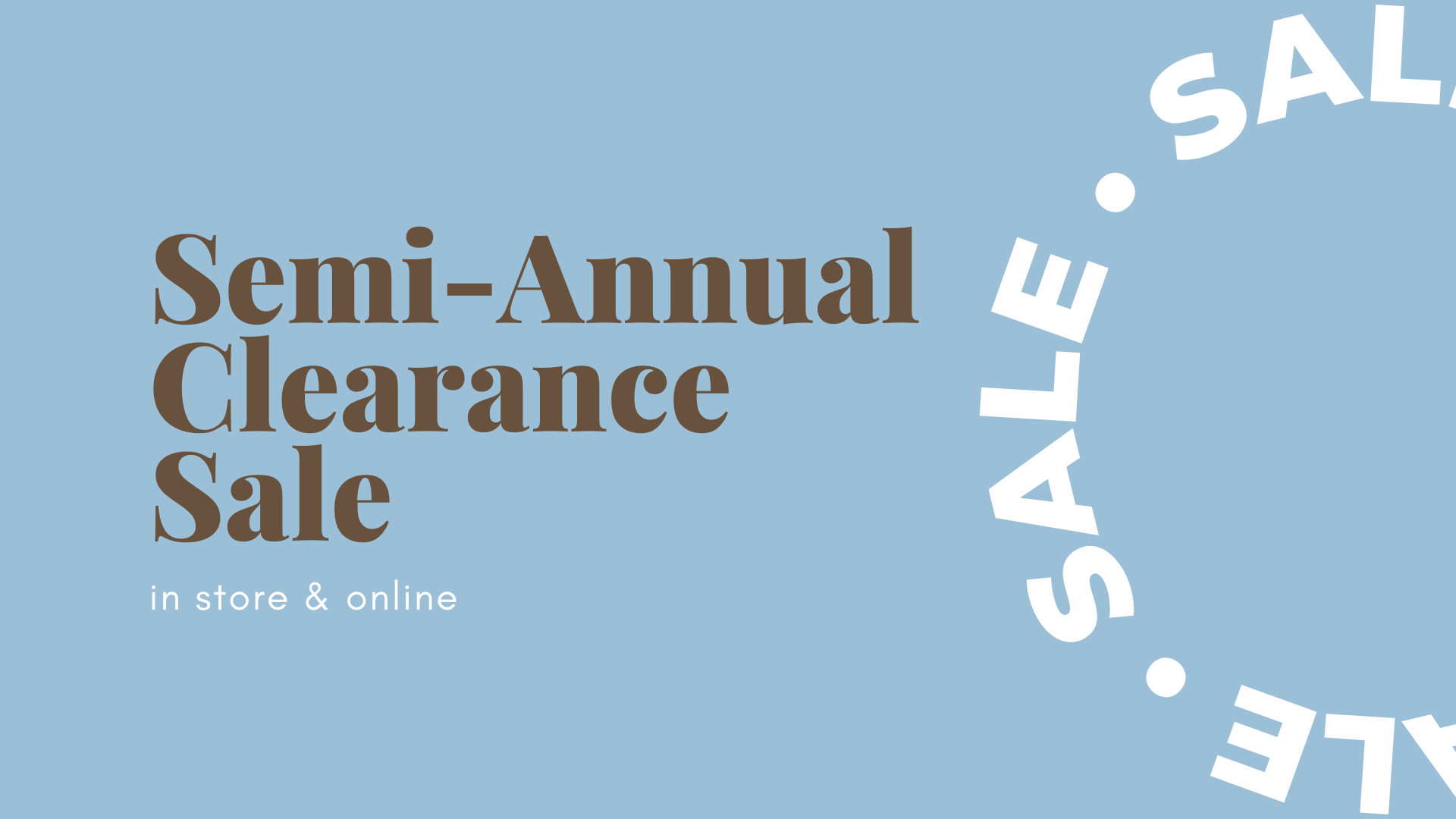clearance sale, winter sale, gifts on sale