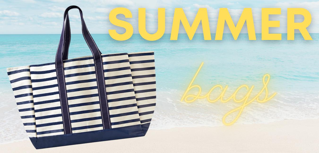 beach bag, summer tote, jute bag