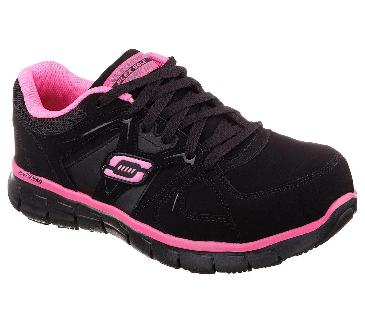 womens skechers composite toe