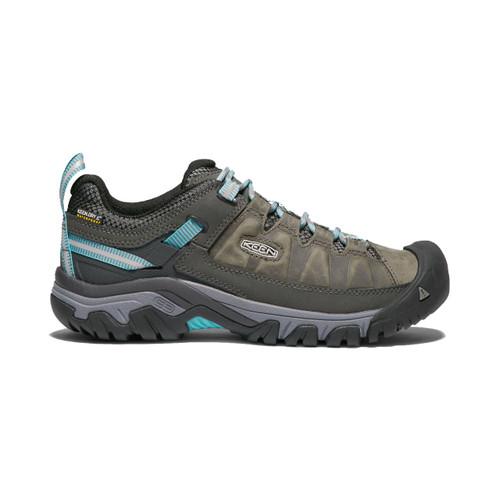 Keen Women's Targhee III Waterproof Hiking Shoe - Alcatraz/Turquoise
