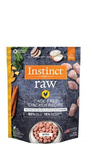 Instinct 85/15 Raw Frozen Chicken Bites
