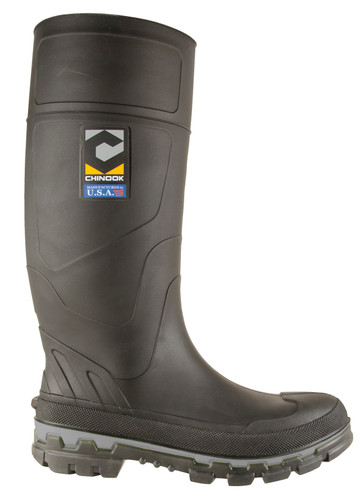 Chinook Kickaxe Steel Toe Pull On Mens Work Boot