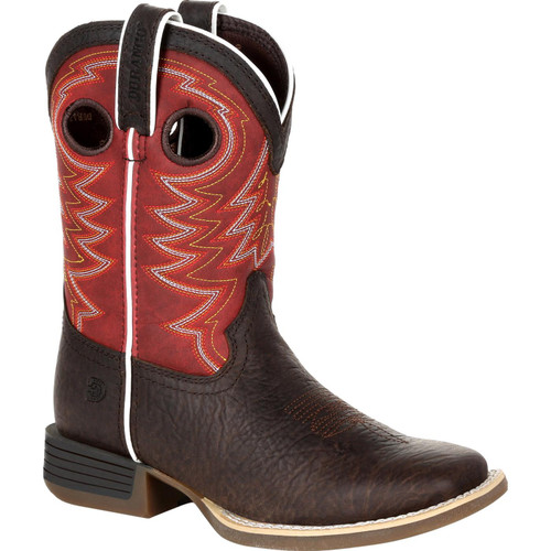 Durango Kids Lil' Rebel Pro Red Western Boot