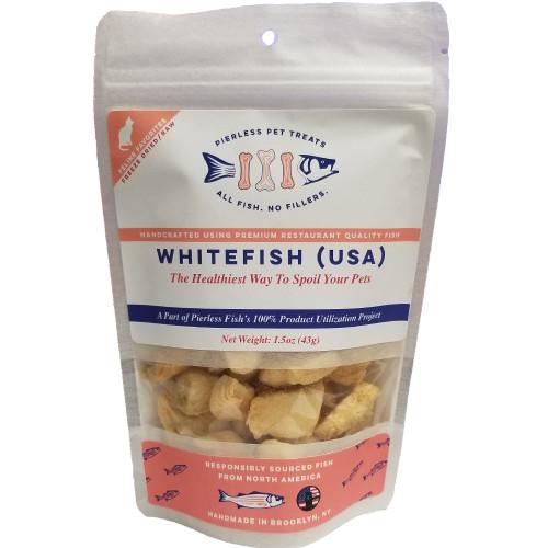 Pierless Freeze Dried Whitefish, 1.5 oz