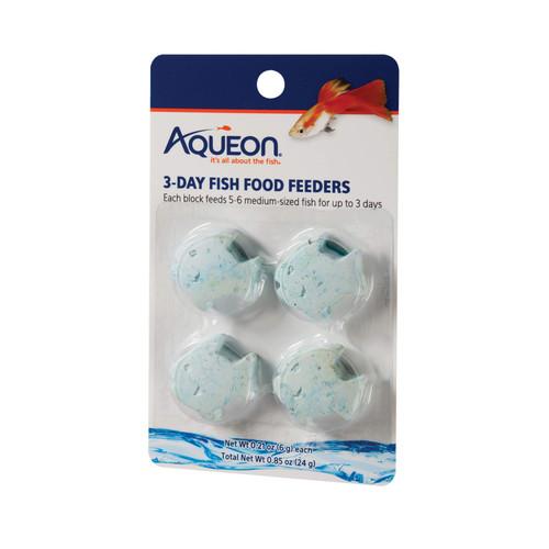 Aqueon Fish Feeder 3day, 4pack