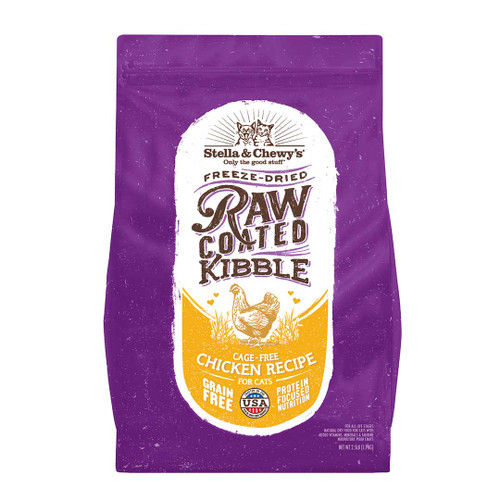 Stella & Chewy's Raw Coated Kibble Cage-Free Chicken, 2.5 lbs