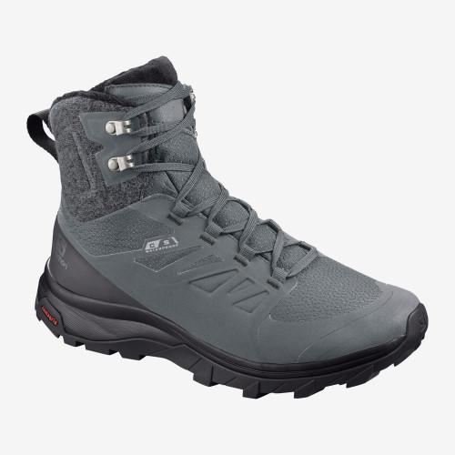 Salomon Women's Outblast TS CS WP Winter Boot - Grey