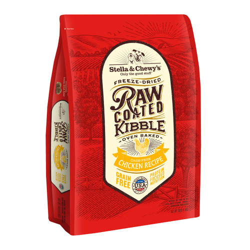Stella and Chewy's Cage-Free Chicken Raw Coated Kibble 10lbs