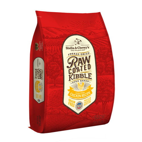 Copy of Stella and Chewy's Cage-Free Chicken Raw Coated Kibble 22lbs