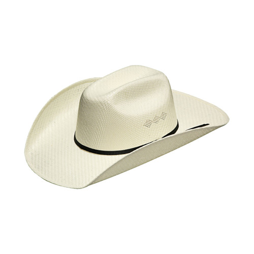 M & F Western Twister Kids Natural Straw Hat