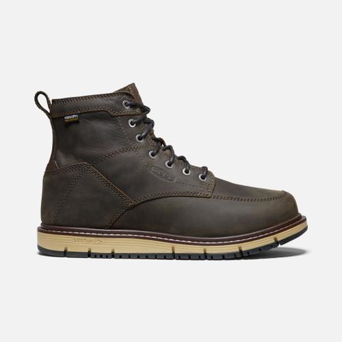 "Keen Men's San Jose 6"" Waterproof Brown Boot"