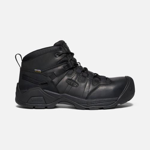 Keen Men's Detroit XT+ Waterproof Carbon-Fiber Boot Black