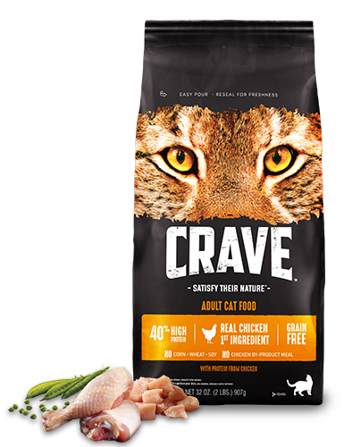 Crave Chicken High-Protein Dry Cat Food