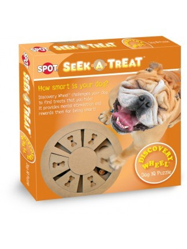 Ethical Pet Seek-A-Treat Discovery Wheel Puzzle