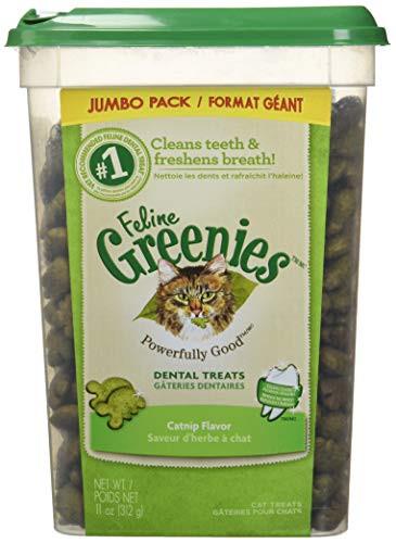 Feline Greenies Catnip Dental Treats 11oz