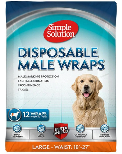 Simple Solutions Disposable Male Wrap Large