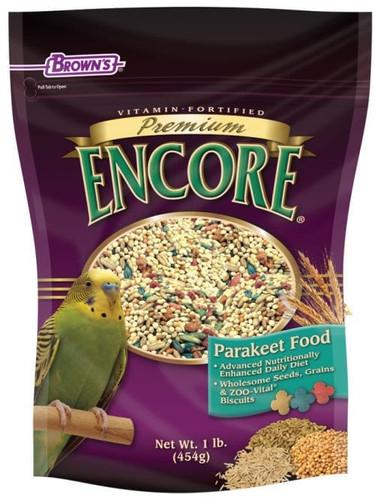 Encore Premium Parakeet Seed 2lb