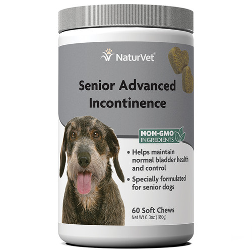 NaturVet Senior Advanced Incontinence Soft Chews
