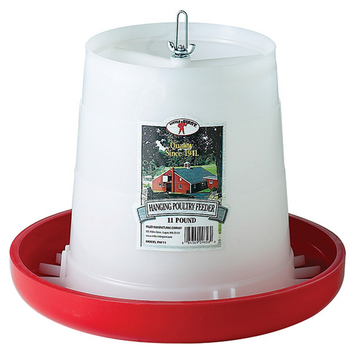 Little Giant Plastic Hanging Poultry Feeder 11lb
