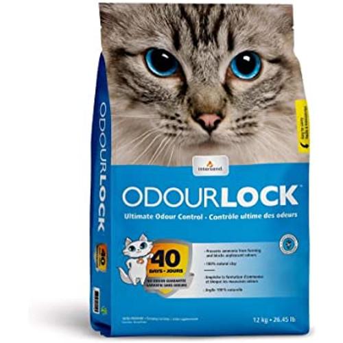 Intersand Odourlock Ultra Premium Unscented Clumping Cat Litter