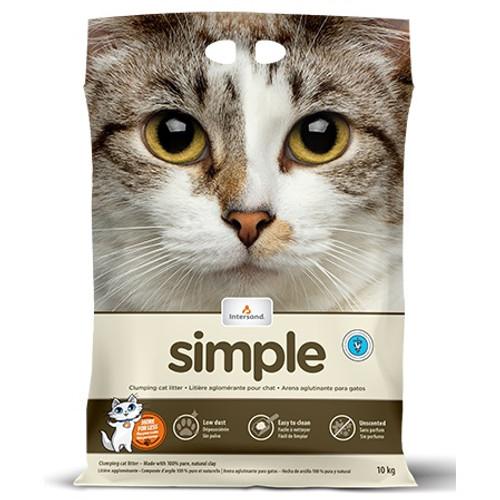 Intersand Simple Clumping Cat Litter 40lb