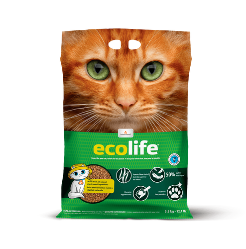 Intersand Eco Life Ultra Premium Clumping Cat Litter