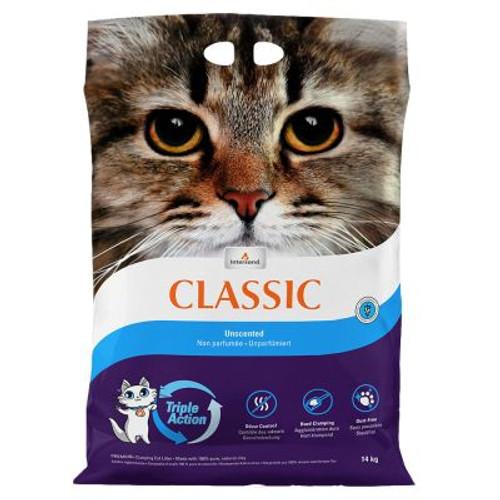 Intersand Classic Premium Clumping Unscented Cat Litter