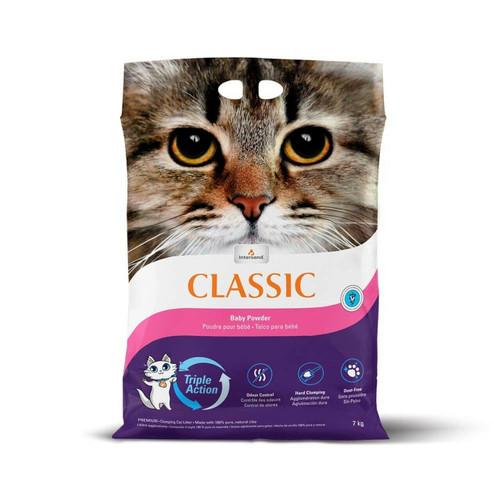 Intersand Classic Premium Clumping Baby Powder Scented Cat Litter