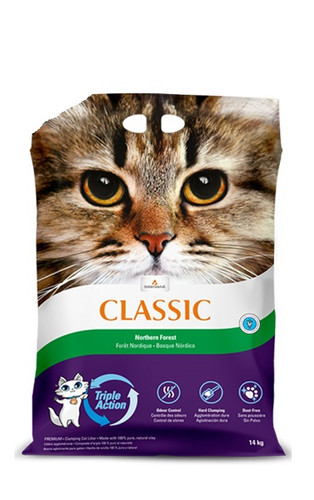 Intersand Classic Premium Clumping Northern Forest Scented Cat Litter