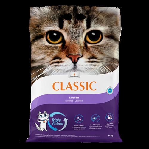 Intersand Classic Premium Clumping Lavender Scented Cat Litter 30lb