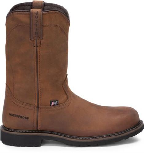 Justin Men's Drywall Waterproof Steel Toe Work Boots