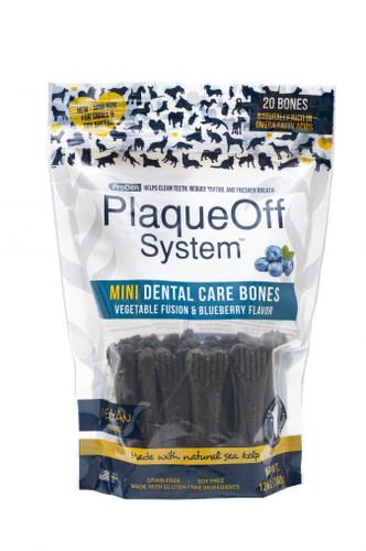 ProDen PlaqueOff  Veggie Fusion with Blueberry Mini Dental Treats 20ct
